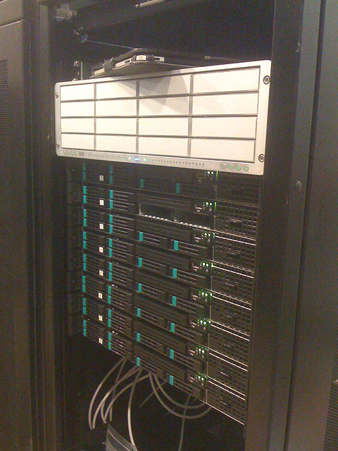 Server in the rack