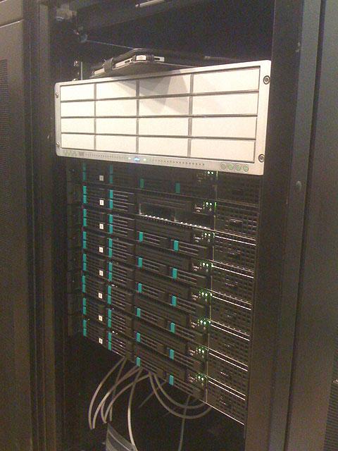 Server in the rack